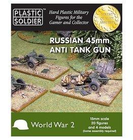 Plastic Soldier Company Soviet 45mm Anti Tank Gun