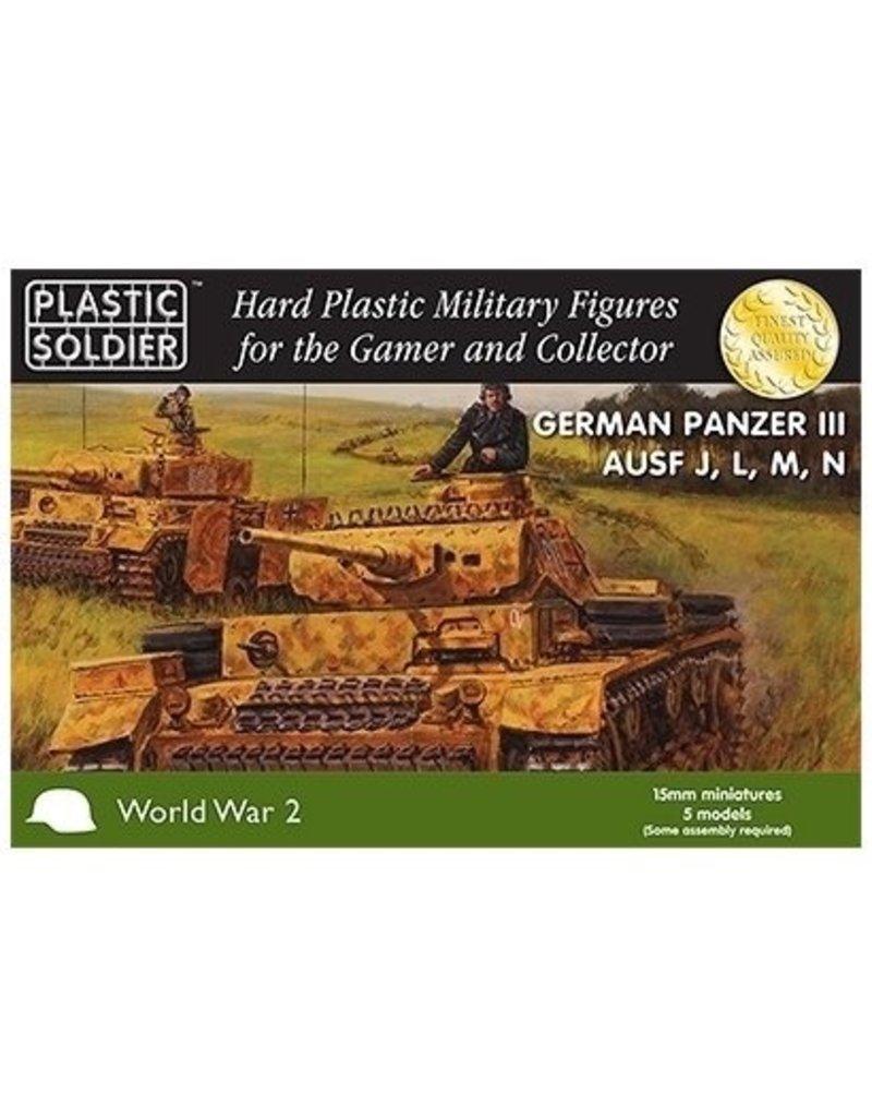 Plastic Soldier Company German Panzer III J,L,M,N (5pcs)
