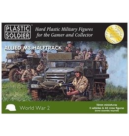 Plastic Soldier Company Allied M3 Halftrack (5pcs)