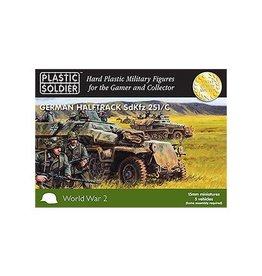 Plastic Soldier Company German Sdkfz 251 Ausf C (5pcs)
