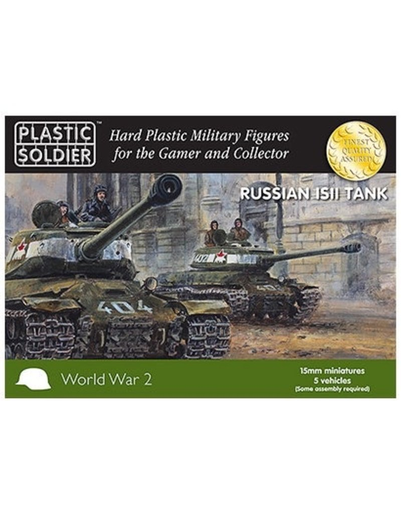 Plastic Soldier Company Soviet IS2 Tank