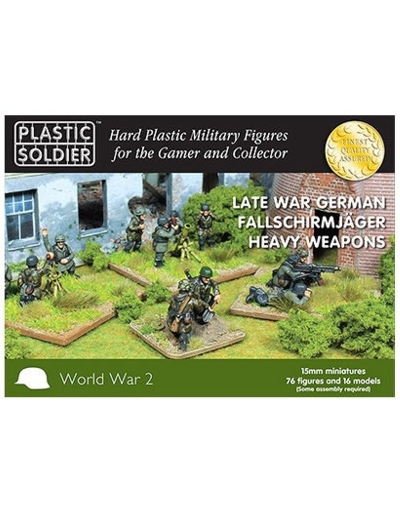 Plastic Soldier Company German Falschirmjaeger Heavy Weapons