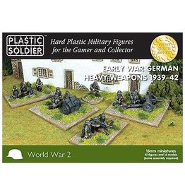 Plastic Soldier Company German Early War Heavy Weapons 1939-42