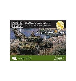 Plastic Soldier Company British Cromwell Tank (5pcs)