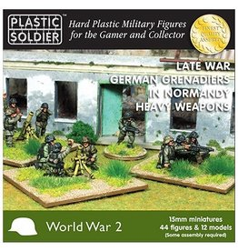 Plastic Soldier Company German Grenadiers in Normandy Heavy Weapons