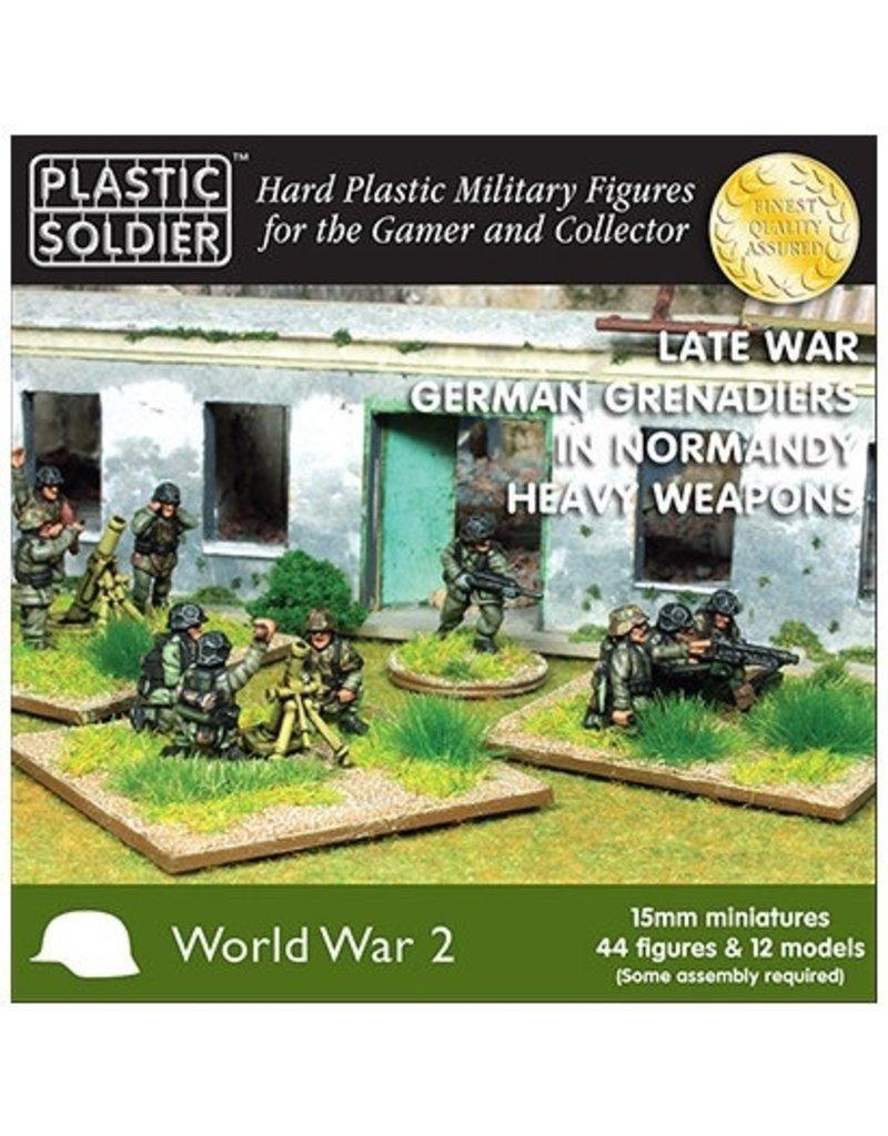 Plastic Soldier Company German Grenadiers in Normandy Heavy Weapons