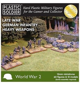 Plastic Soldier Company German Heavy Weapons (24pcs)