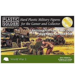 Plastic Soldier Company British 6 pdr and Loyd Carrier