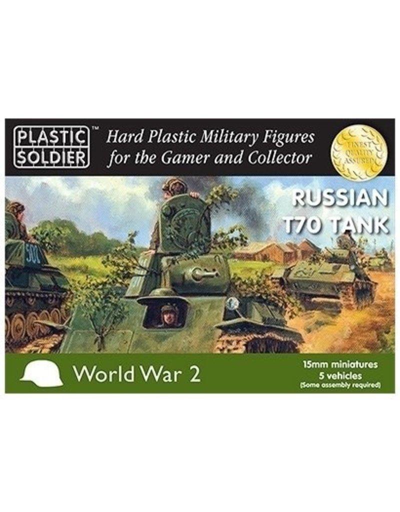 Plastic Soldier Company Soviet T70 Tank (5pcs)