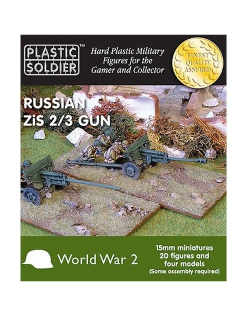 Plastic Soldier Company Soviet Zis 2 and 3 Anti Tank / Field Gun
