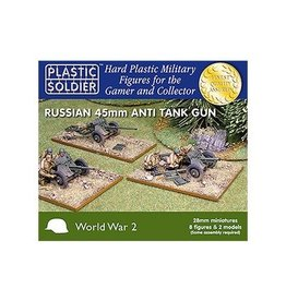 Plastic Soldier Company Soviet 45mm Anti Tank Guns - 28mm