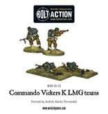 Bolt Action BA British Army: Commando Vickers K LMG Teams