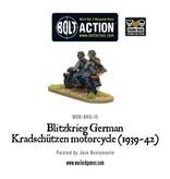 Bolt Action BA German Army: Blitzkrieg Kradschutzen Motorcycle (1939-42)