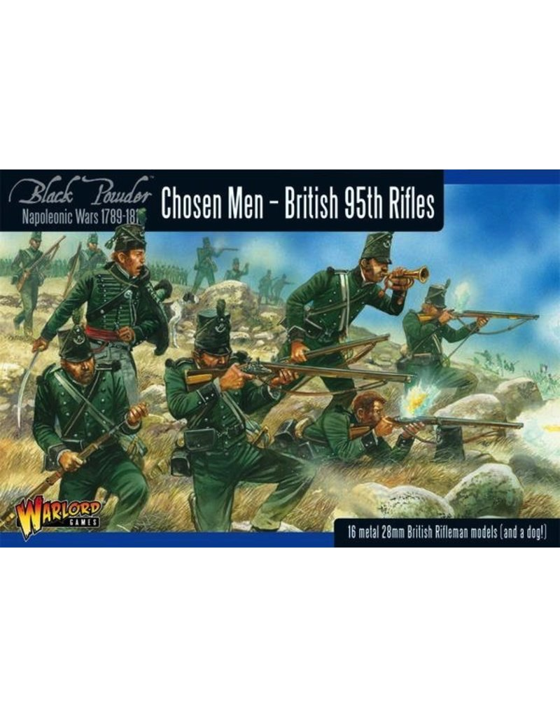 Warlord Games Chosen Men - Napoleonic British 95th Rifles