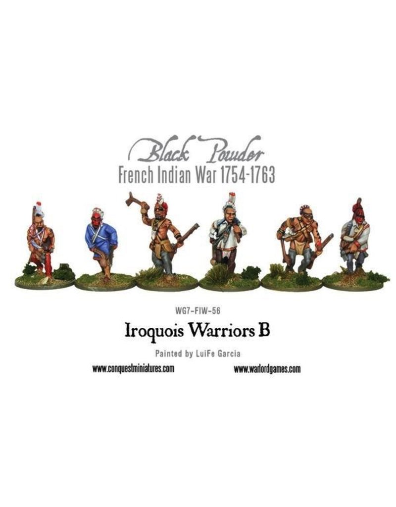 Warlord Games French Indian War - Iroquois Warriors