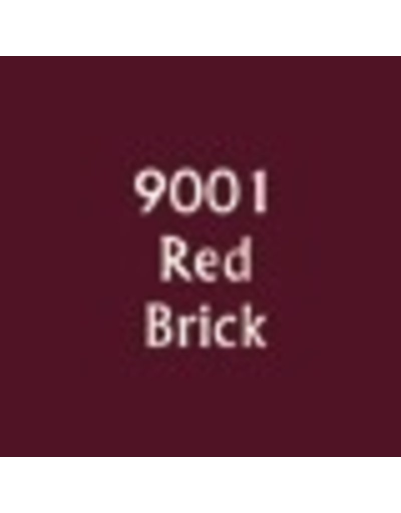 Reaper Paints & Supplies RPR09001 MS Red Brick
