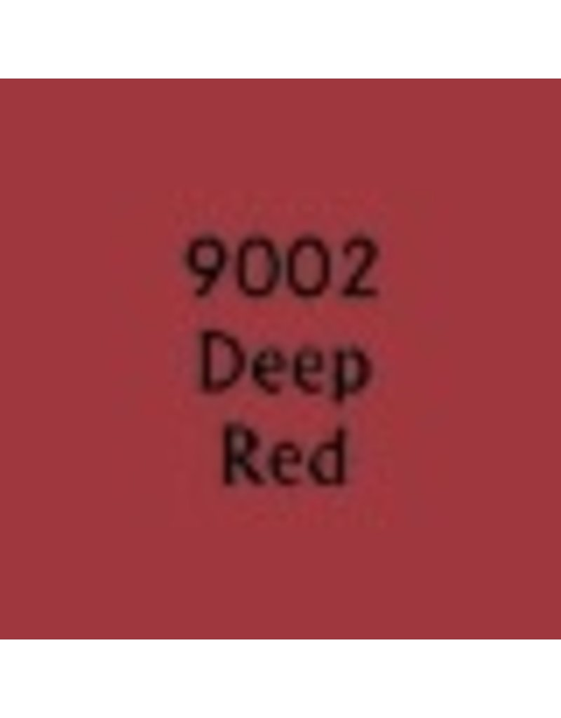 Reaper Paints & Supplies RPR09002 MS Deep Red