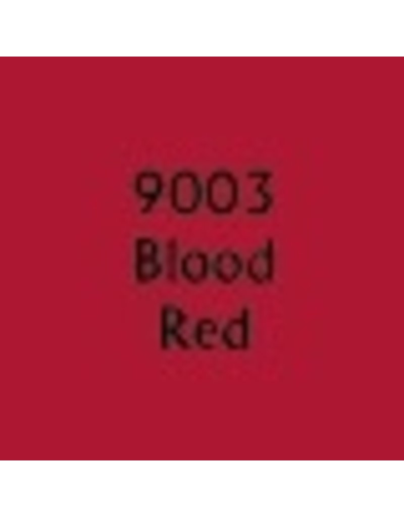 Reaper Paints & Supplies RPR09003 MS Blood Red