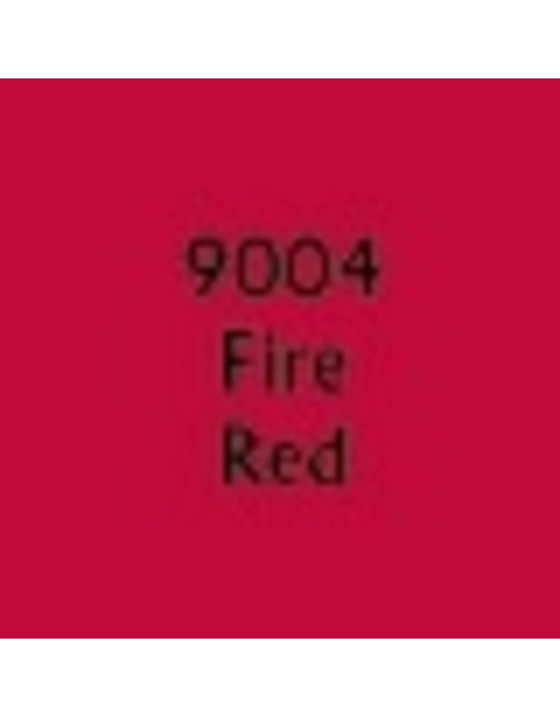 Reaper Paints & Supplies RPR09004 MS Fire Red