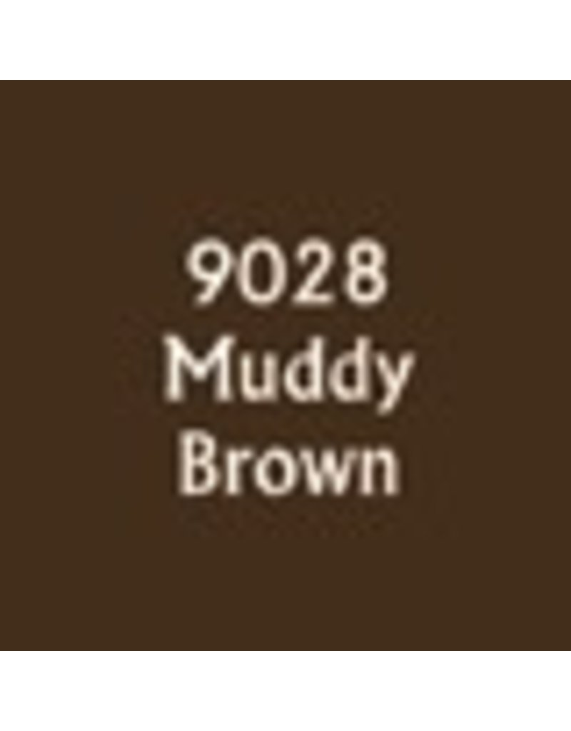 Reaper Paints & Supplies RPR09028 MS Muddy Brown
