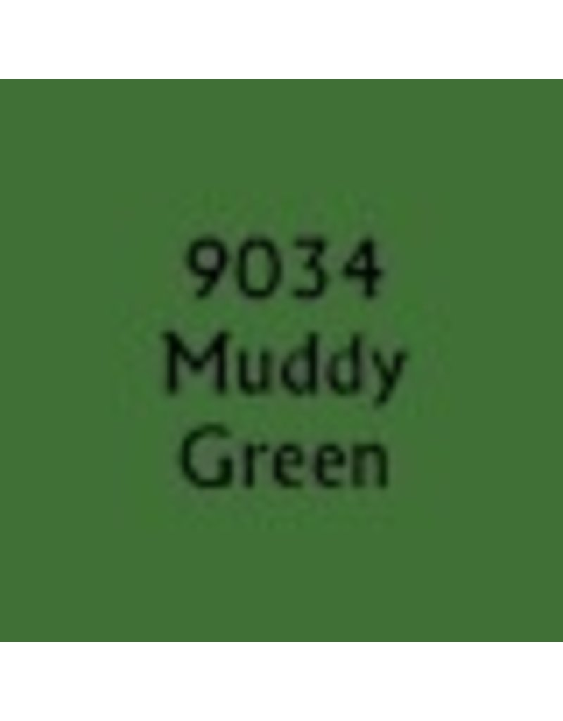 Reaper Paints & Supplies RPR09034 MS Muddy Olive