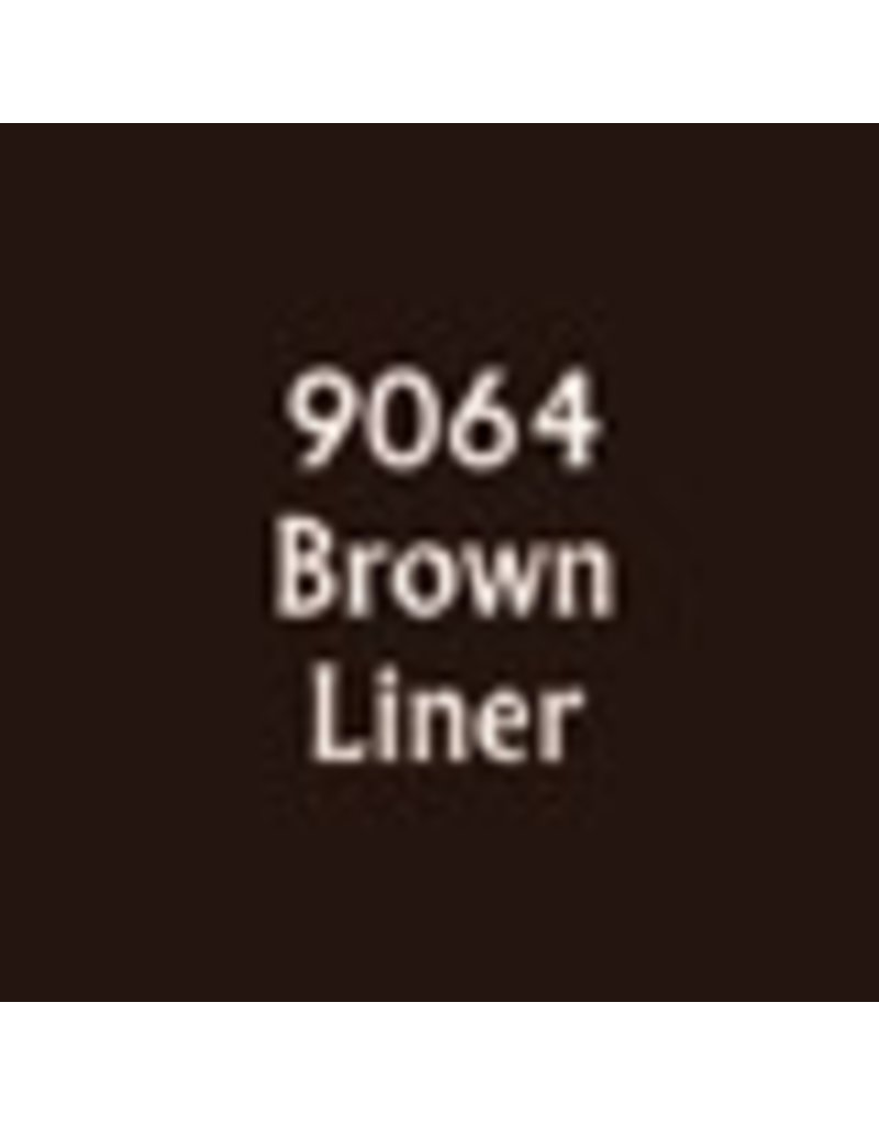 Reaper Paints & Supplies RPR09064 MS Brown Liner