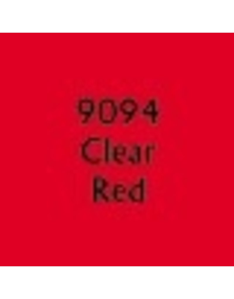 Reaper Paints & Supplies RPR09094 MS Clear Red