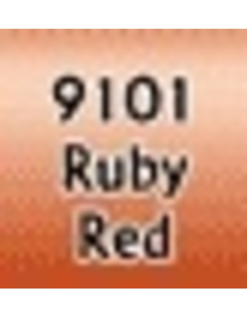 Reaper Paints & Supplies RPR09101 MS Ruby Red Metallic