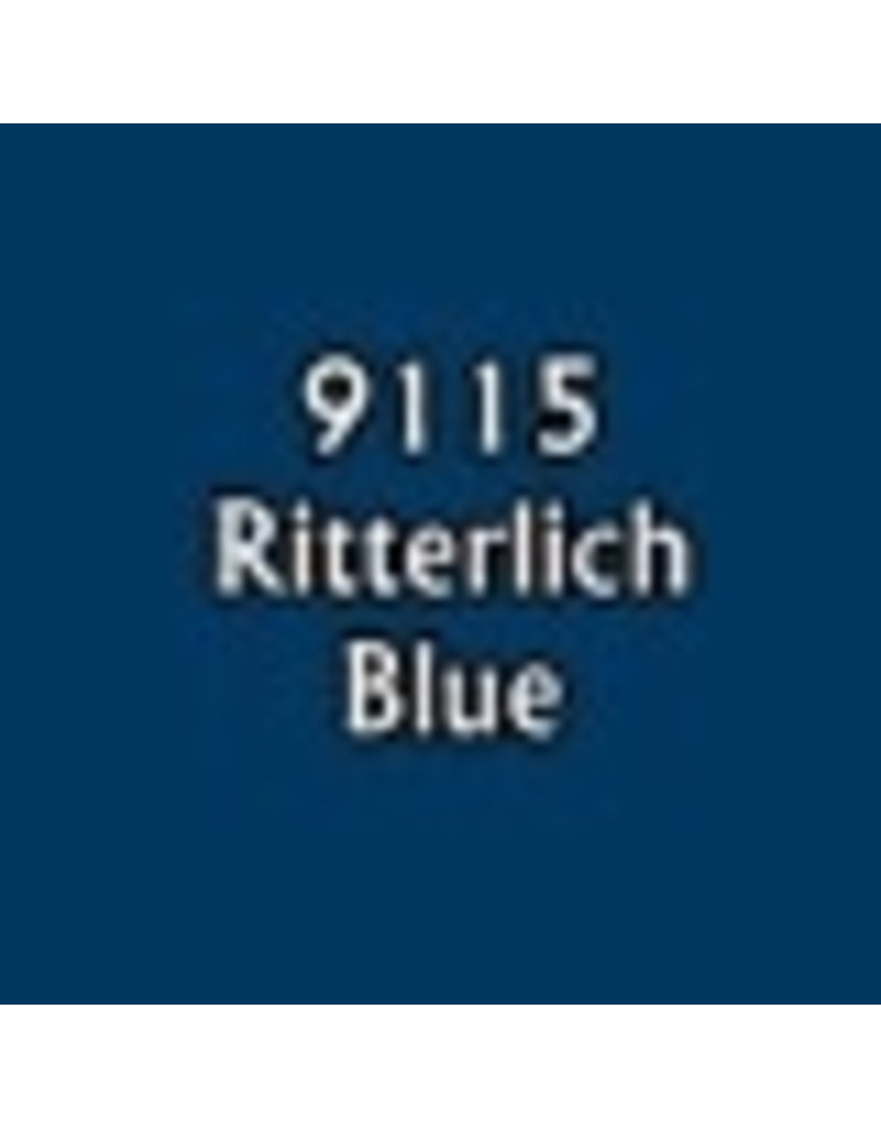 Reaper Paints & Supplies RPR09115 MS Ritterlich Blue