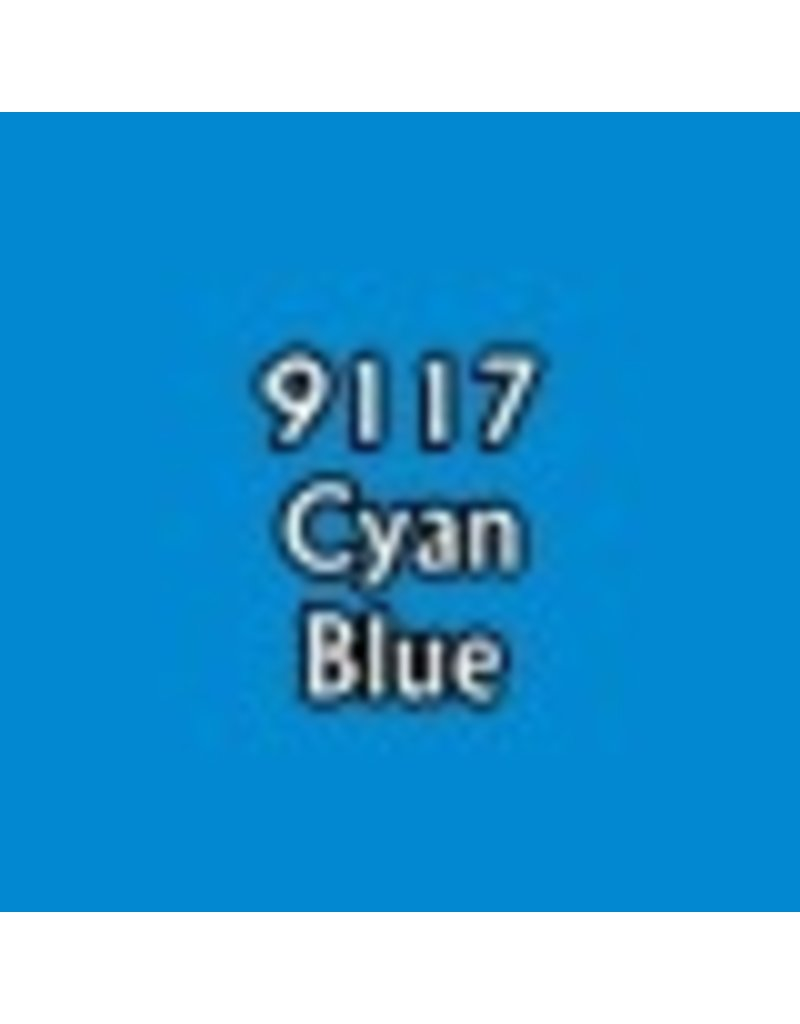 Reaper Paints & Supplies RPR09117 MS Cyan Blue