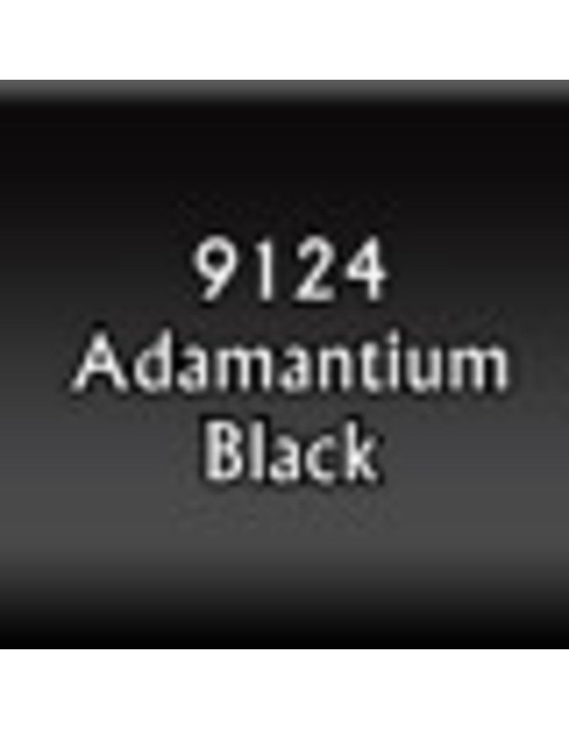Reaper Paints & Supplies RPR09124 MS Adamantium Black