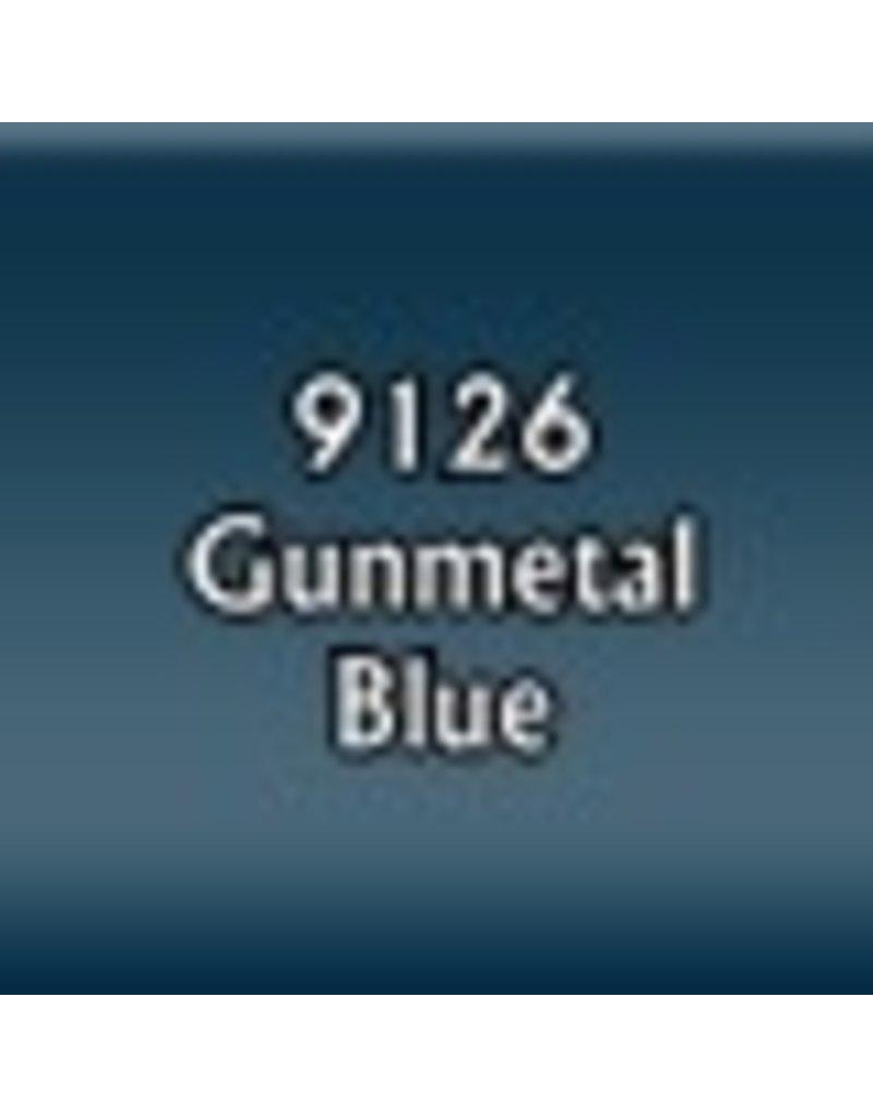 Reaper Paints & Supplies RPR09126 MS Gunmetal Blue
