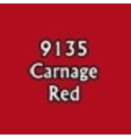 Reaper Paints & Supplies RPR09135 MS Carnage Red