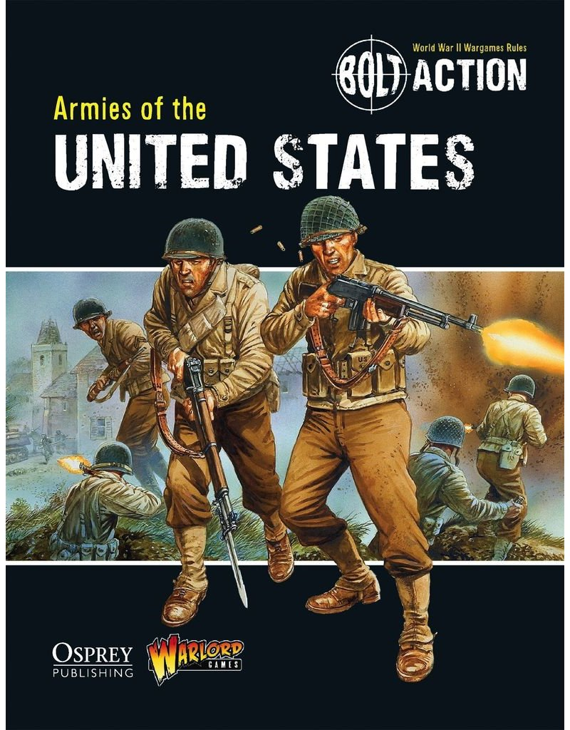 Bolt Action: Armies of the United States Rulebook