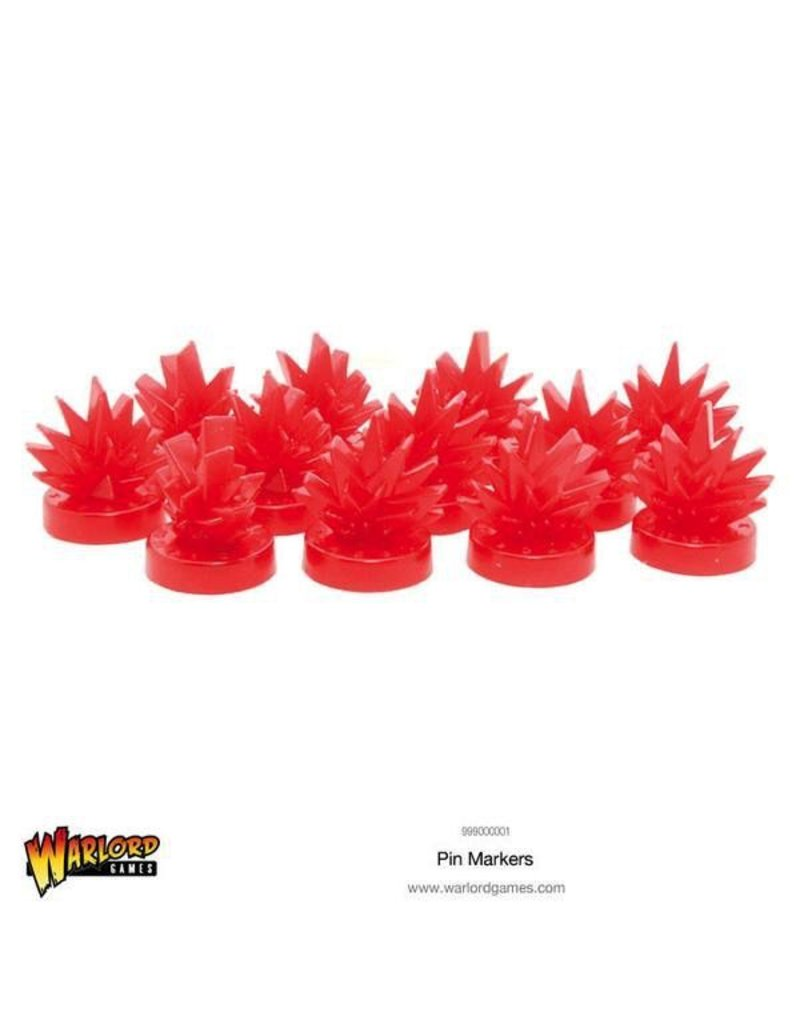 Bolt Action Warlord Games Pin Markers