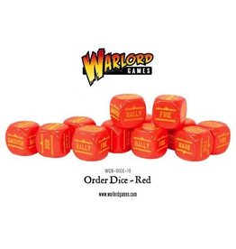 Bolt Action BA Orders Dice - Red (12)