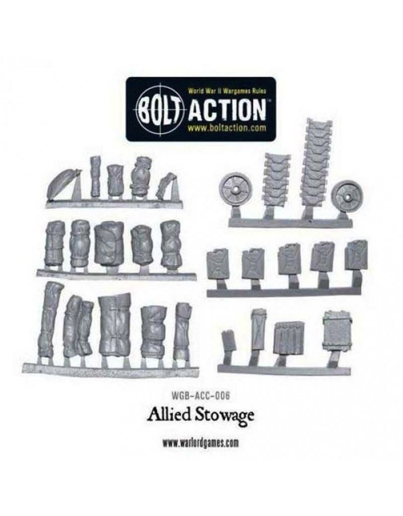 Bolt Action BA Accessories: Stowage Pack - Allied