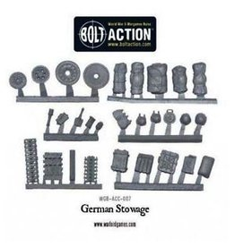Bolt Action BA Accessories: Stowage Pack - German