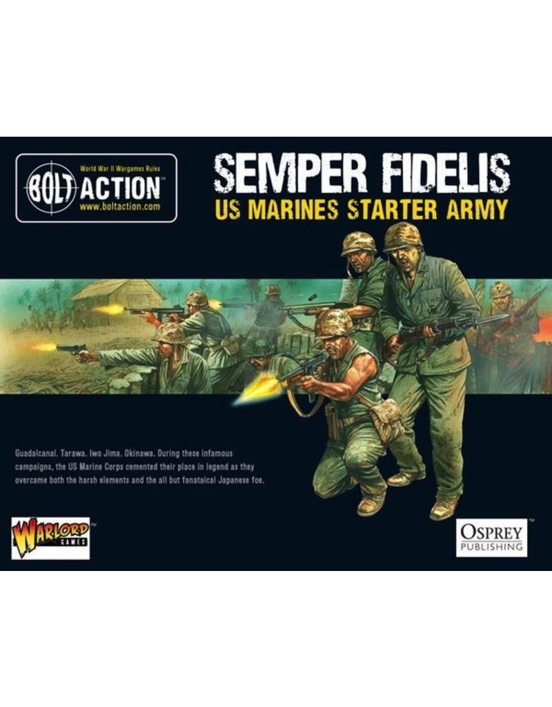 Bolt Action BA Starter Set - US Marine Corps Army