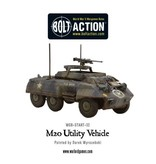 Bolt Action BA American Army: Armoured Car Squadron (3x M8/M20 Greyhound Scout Cars)