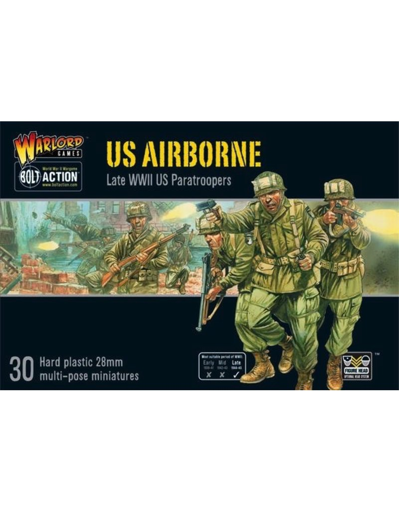 Bolt Action BA American Army: US Airborne (plastic) (30)