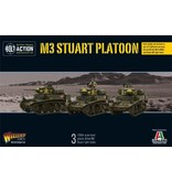 Bolt Action BA American Army: M3 Stuart Platoon Troop