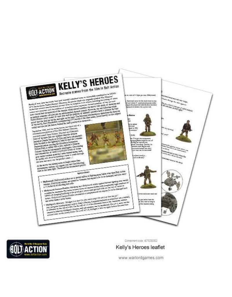 Bolt Action BA American Army: Oddball Heroes