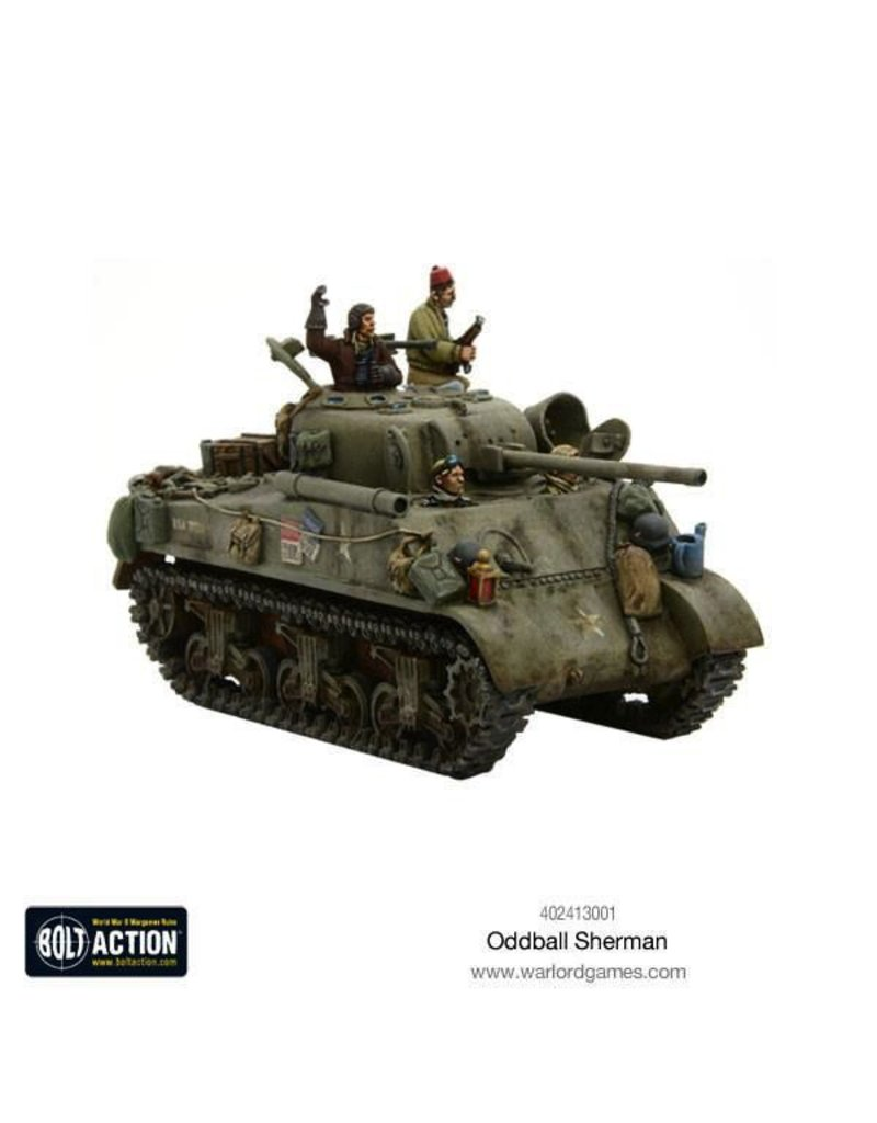 Bolt Action BA American Army: Oddball Sherman