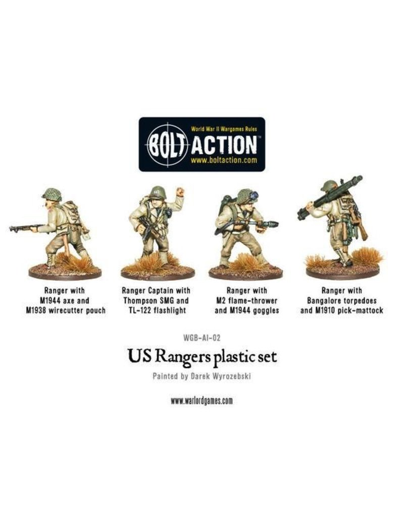 Bolt Action BA American Army: Rangers