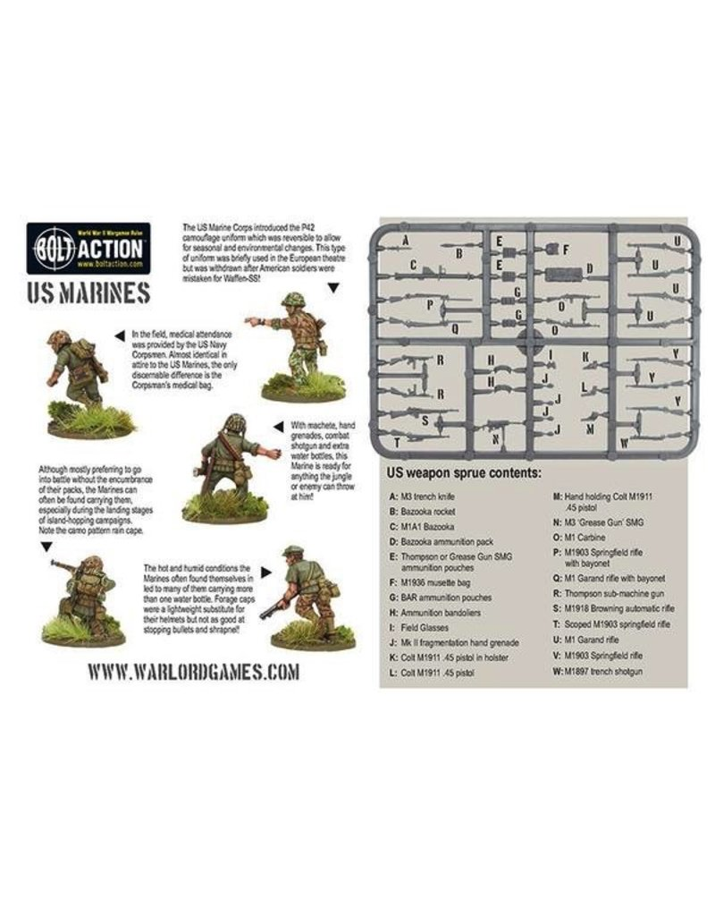 Bolt Action BA American Army: US Marine Corps Plastic