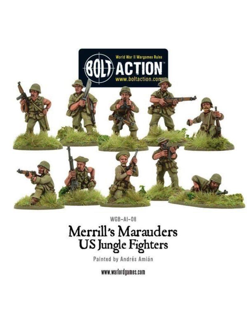 Bolt Action BA American Army: Merrill's Marauders Squad