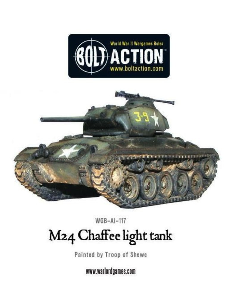 Bolt Action BA American Army: M24 Chaffee Light Tank
