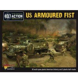 Bolt Action BA American Army: Armoured Fist (3x Halftracks & 30 Infantry)