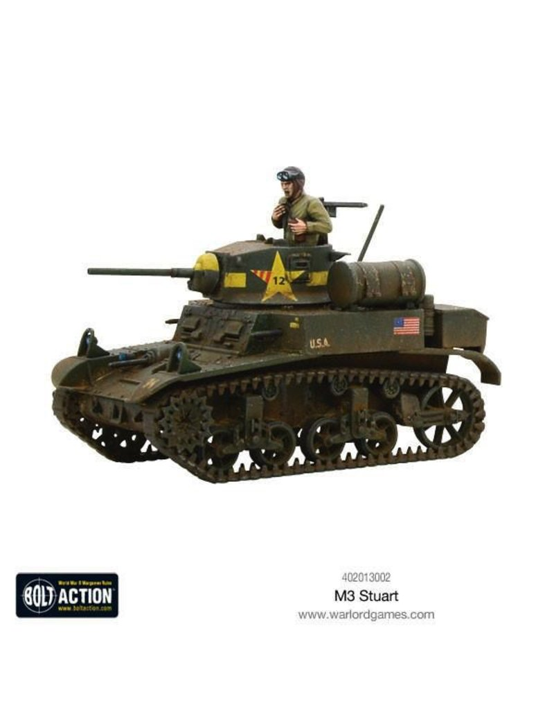 Bolt Action BA American Army: M3 Stuart
